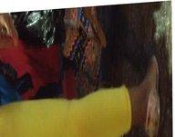 Leggins Amarillos Culito Fino Sucio Rico Calzon Marcado