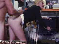 Hot euroblonde Hot Milf Banged At The PawnSHop