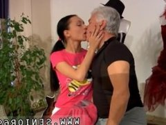 Japanese lesbian anal strapon Clair is having dance lessons from Dance