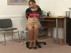 Office chair bondage