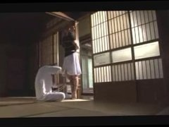 Japanese Woman Pole Tied By Master