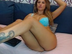 Webcam show of Bryanne come people stockings @ CamGirls.TO