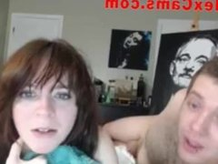 Hot Webcam Couple Fuck And BJ 4