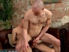 Gay slow ass fuck Tony completes himself off and douses his new friend