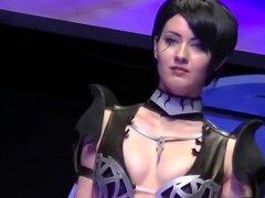 Oniksiya Sofinikum sexy cosplay - Starcom 2015