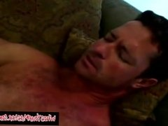 Blonde Fucks Husband With Stapon