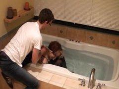 Hogtied in a Bathtub