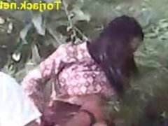Indonesian student fucked on the grass at tor