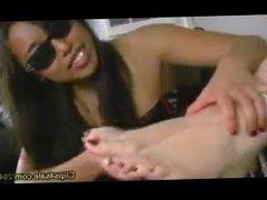 Asian Double-Team Tickle! Part 1 - Criminal Toes!