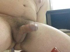 Prostate milking after shower