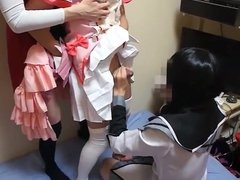 3 Japanese CD's jacking again with condom