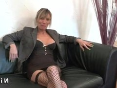 Squirt french mature hard analized for her casting couch