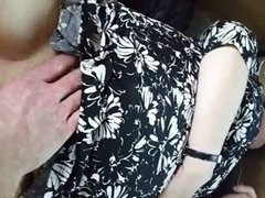 Sexy granny gets fingered
