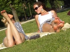 Sweet soles in the park