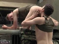 Nude men having gay sex Uniform Twinks Love Cock!