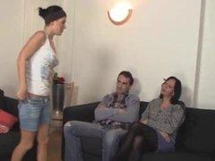 Mature Couple Seduces Teen By Troc