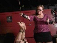 Slave Gets Some Bastinado