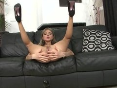 Teen Blonde Anal Cock Riding