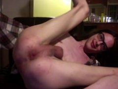 Pink Toy in Pink Boy-Pussy