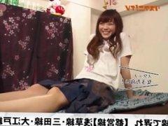 Anime Voice Actress Suzuko Mimori shows her feet on TV