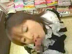 Japanese EGL fucks in store part 1