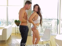 PornPros - Chad meticulously undresses asian girl Morgan Lee