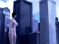 Giant Woman Rampage 1