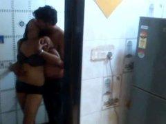 Shooting Romance in Bathroom