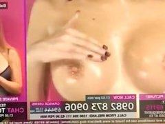 Lori Buckby Oiled up Tits (HUU)