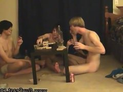 Prime twink boys having ass sex Trace and William get together with their