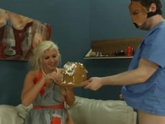 Extreme whore violently ana penetrated and banged BDSM sub
