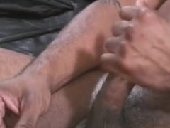 Black Thug Masturbates And Fucked White Gay Tight Ass