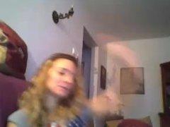 Maria Raluca de la Braila se masturbeaza