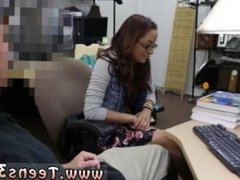 Shemale gets handjob College Student Banged in my pawn shop!