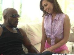 Riley Reid begs Dad to Meet his Black Friend