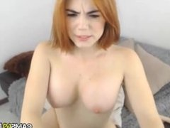Big Tit Redhead Toys on Webcam - Cams69.net
