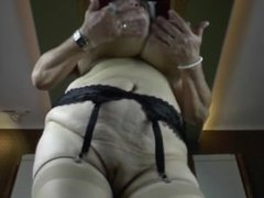 Kinky Grandma FROM SEXDATEMILF.COM with very Big Saggy Boobs