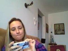 Maria Raluca Rosca de la Braila se masturbeaza