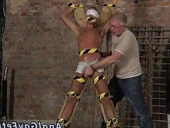 Bondage male celeb Slave Boy Made To Squirt