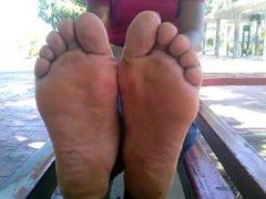 pies de mujer venezolana