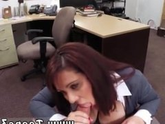 Young latina deepthroat MILF sells her husband's stuff for bail $$$