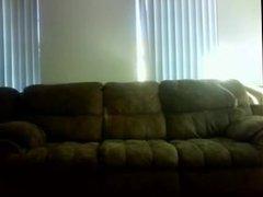 hidden camera fucking on the sofa from BlacksCrush.com