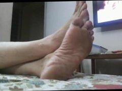 Feet of Mature Indian GODDESS 4
