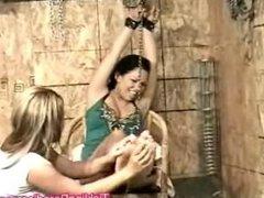 Harper chains tickling