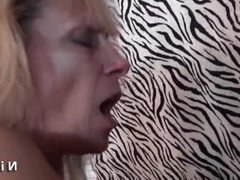 French mature cougar banged hard by a big cock