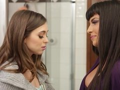 Riley Reid and Mercedes Carrera at Mommy's Girl