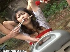 Asian weirdoes are having a weird bdsm sessio