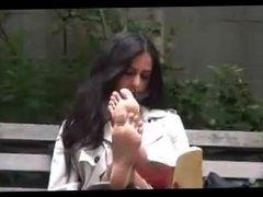 Priya's Bare Soles- Candid