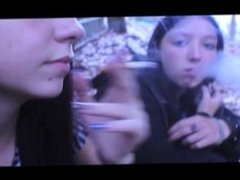 Madison & Melissa Smoking