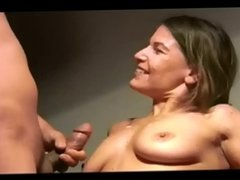 huge load facial 82